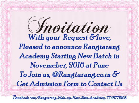 Rangtarang Academy New Batch