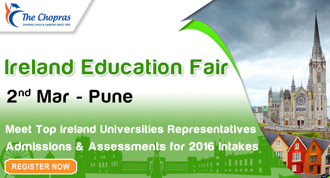 The Chopras' Ireland Education Fair will Display Universities