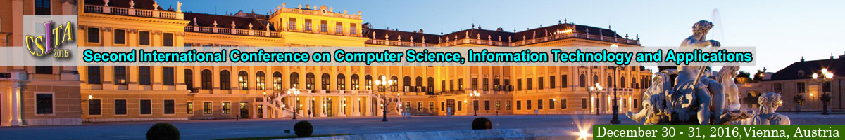 The Second International Conference on Computer Science, Information Technology and Applications (CSITA-2016)