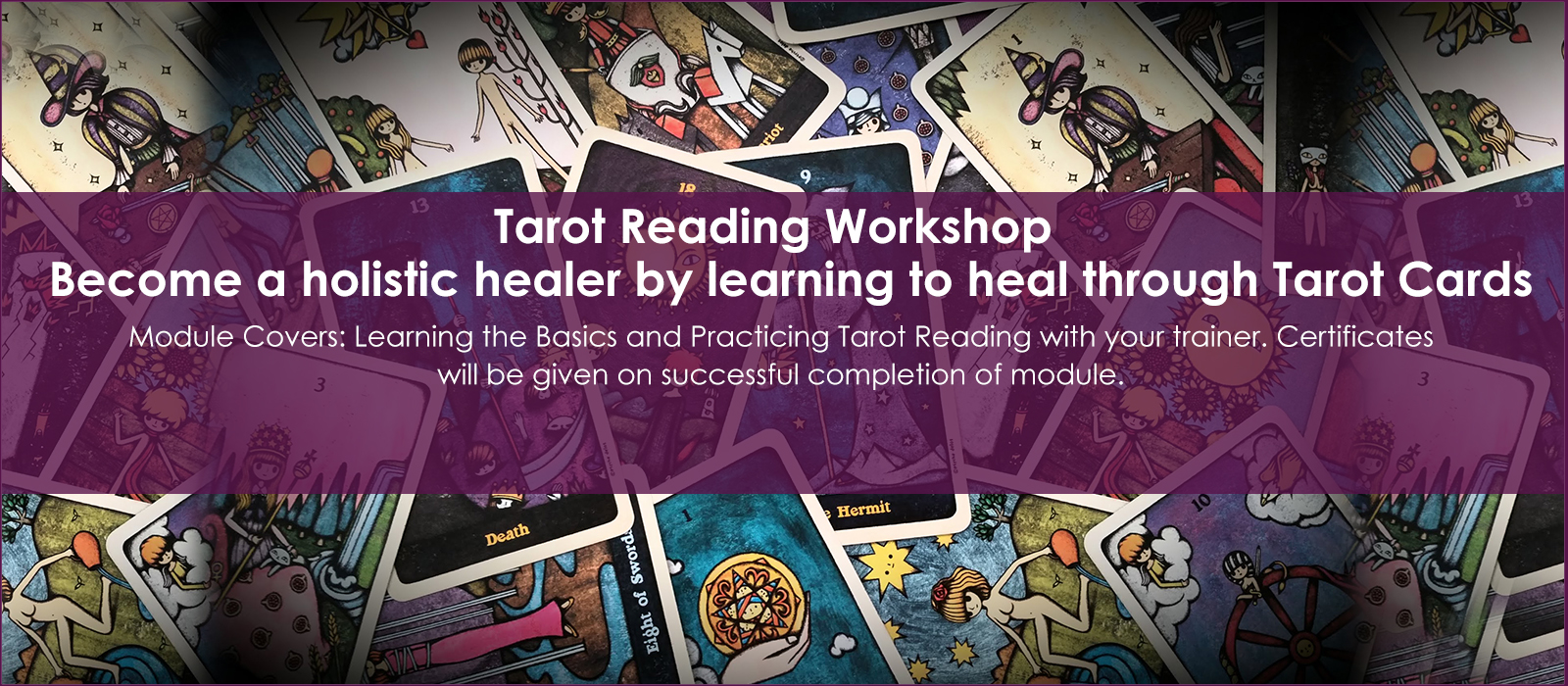 Tarot Card Reading Workshop