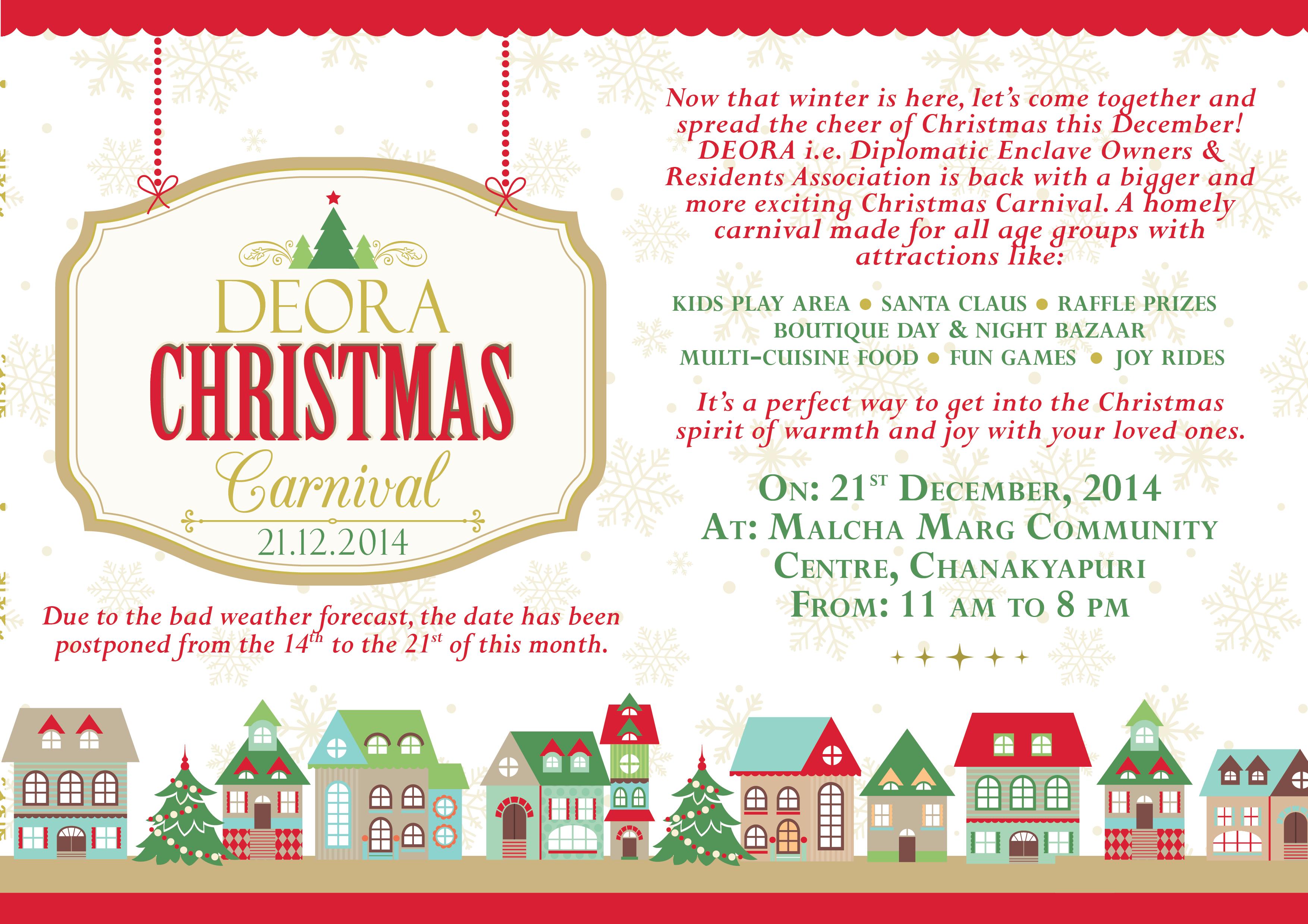 DEORA Christmas Carnival 2014