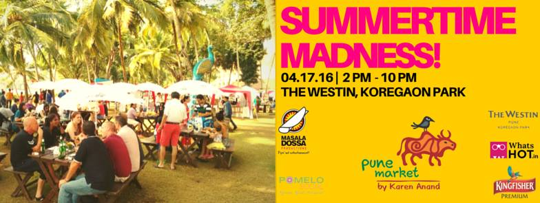 Summer Evening Pune Market by Karen Anand!