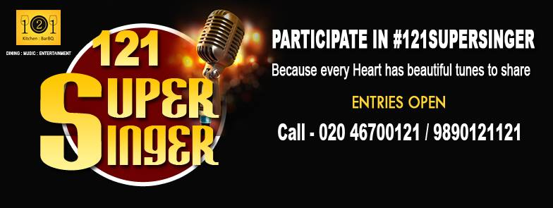 Events in Pune today - #121SuperSinger singing comptetition in Wakad