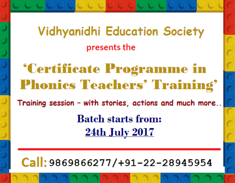 Phonics Teacher Training Programme