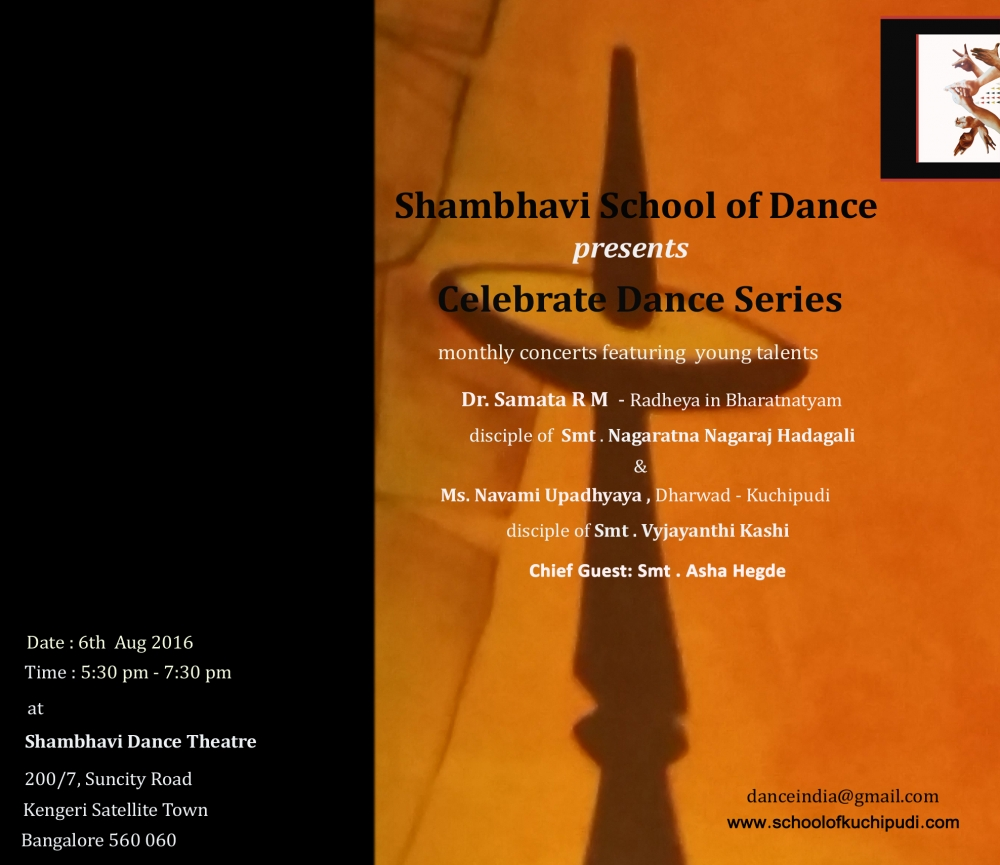 Shambhavi - Celebrate Dance Series 2016