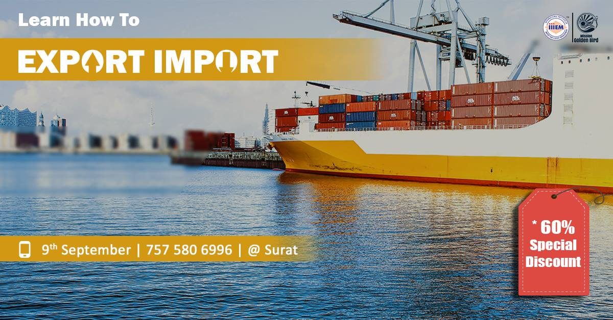 Start and Set up Your Own Import and Export Business At Surat