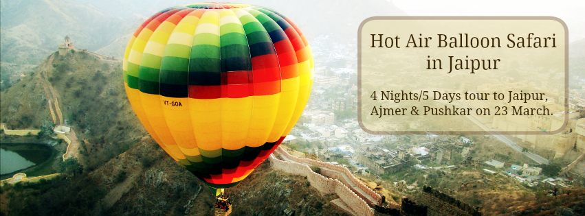 Women Exclusive Trip- Hot Air Balloon Ride & Pushkar
