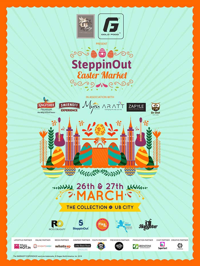UB City presents The SteppinOut Easter Market