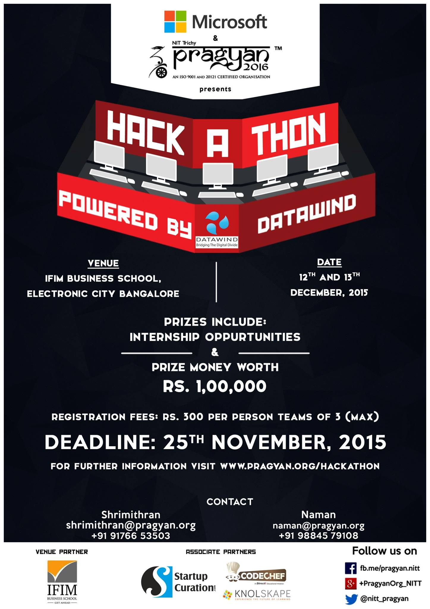 Pragyan'16 Hackathon