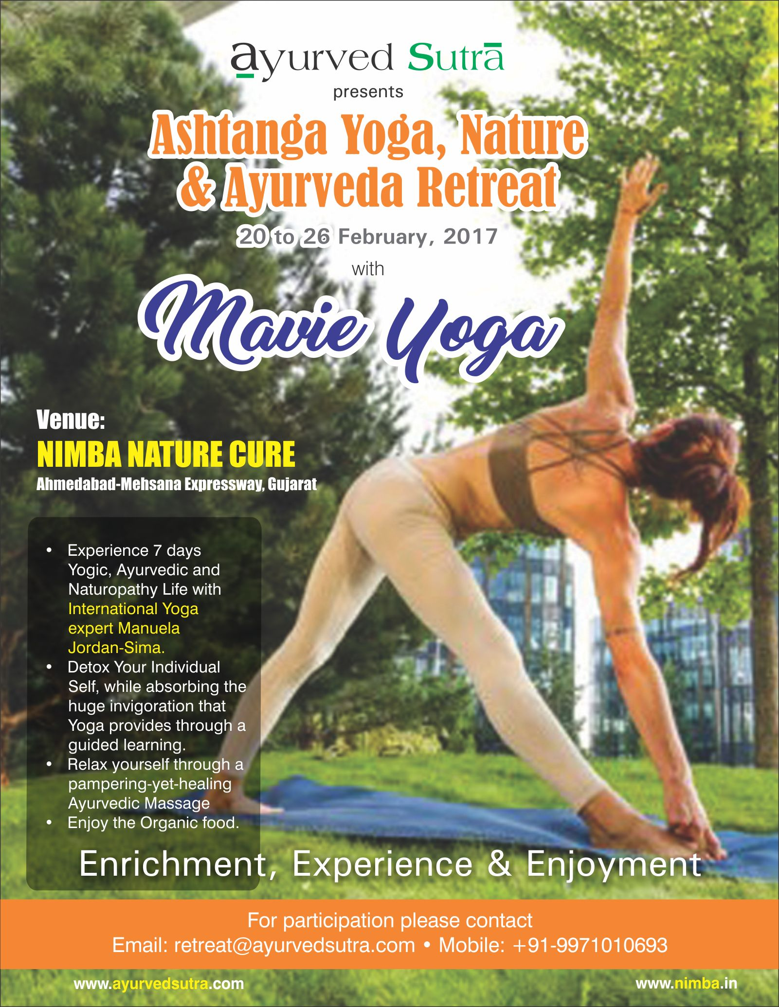 ASHTANGA YOGA, NATURE & AYURVEDA RETREAT