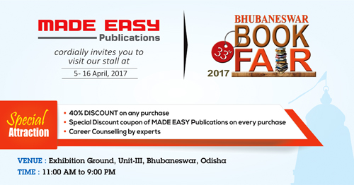 MADE EASY Publications at Bhubaneswar Book Fair