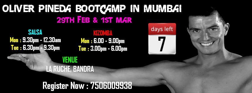 Oliver Pineda Bootcamp in Mumbai