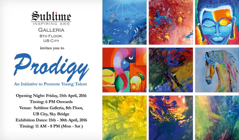 Prodigy - An Exhibition of Artwork by Two Gifted Children