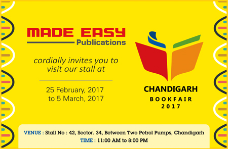 MADE EASY Publications at Chandigarh Book Fair