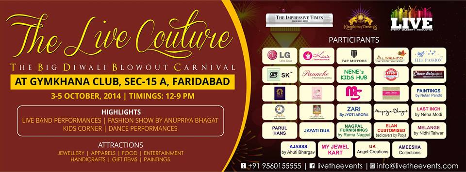 The Live Couture (The Big Diwali Blowout Carnival)
