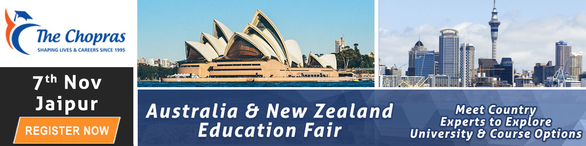 Attend The Chopras Australia and New Zealand Education Fair 2016 in Jaipur
