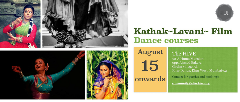 Dance Classes in Kathak, Lavani and classical Bollywood by Aditi Bhagwat