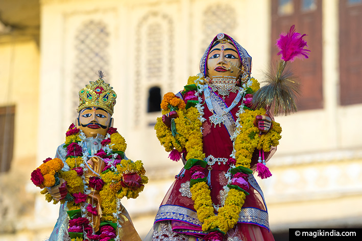 Gangaur Pooja and Festival at Shahpura Haveli