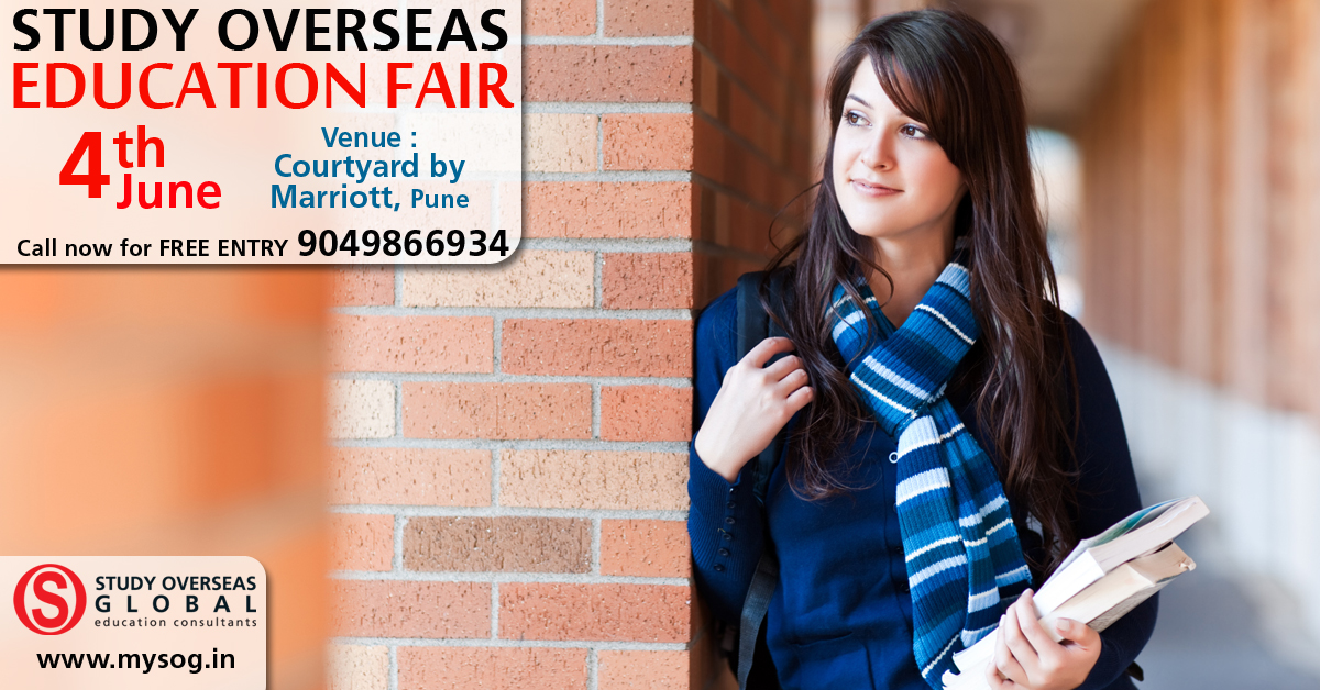 Welcome to Study Overseas Global Education Fair in Pune