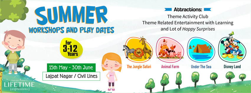 Summer Workshops and Play Dates