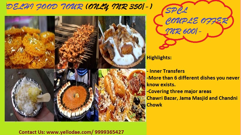 Food trail in Delhi