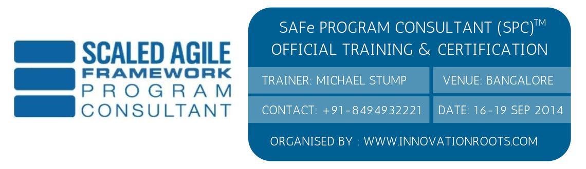 SPC ( SAFe Program Consultant )