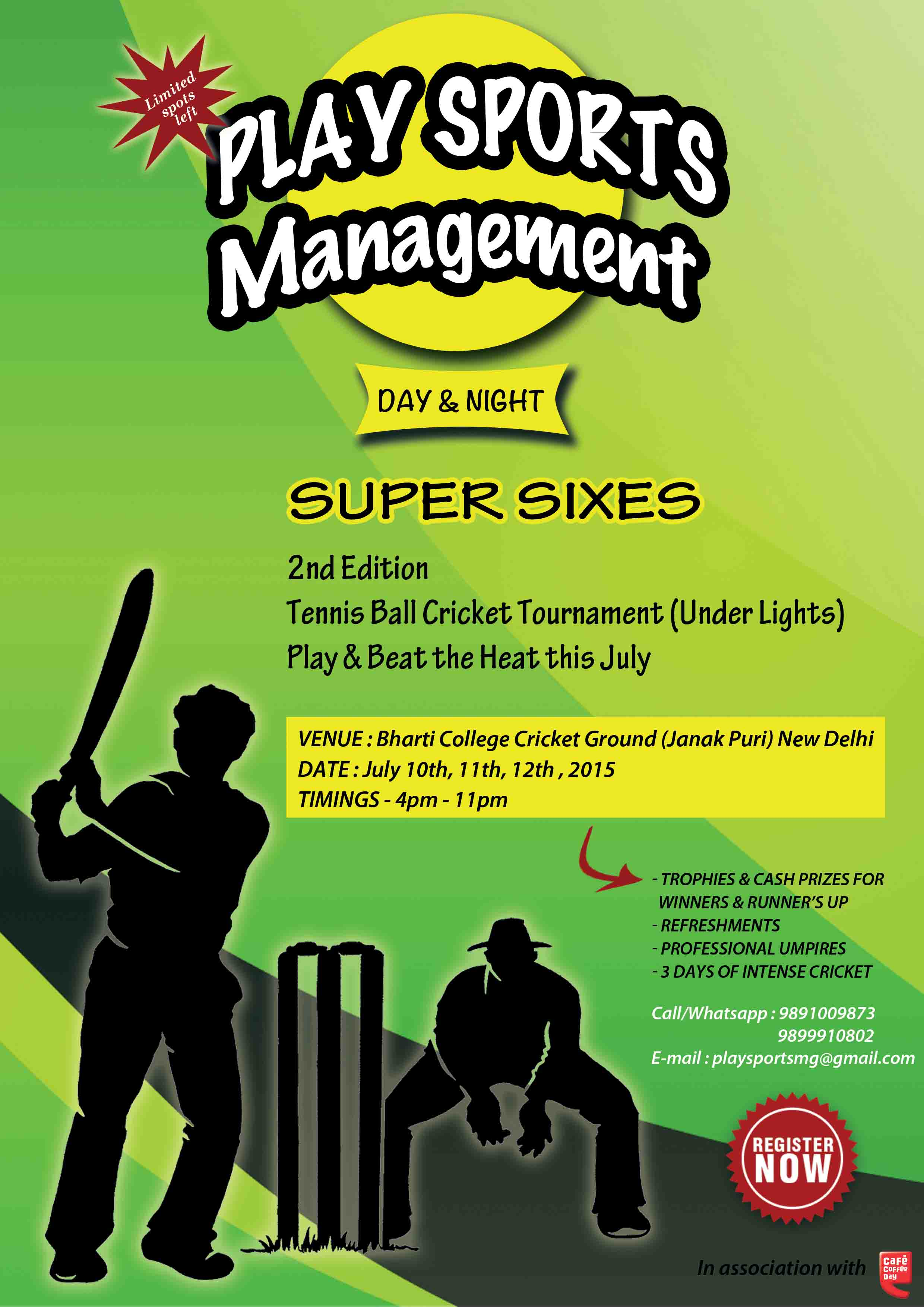 Super Sixes Cricket Tournament