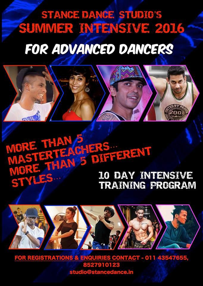 Summer Intensive for Advance Dancers