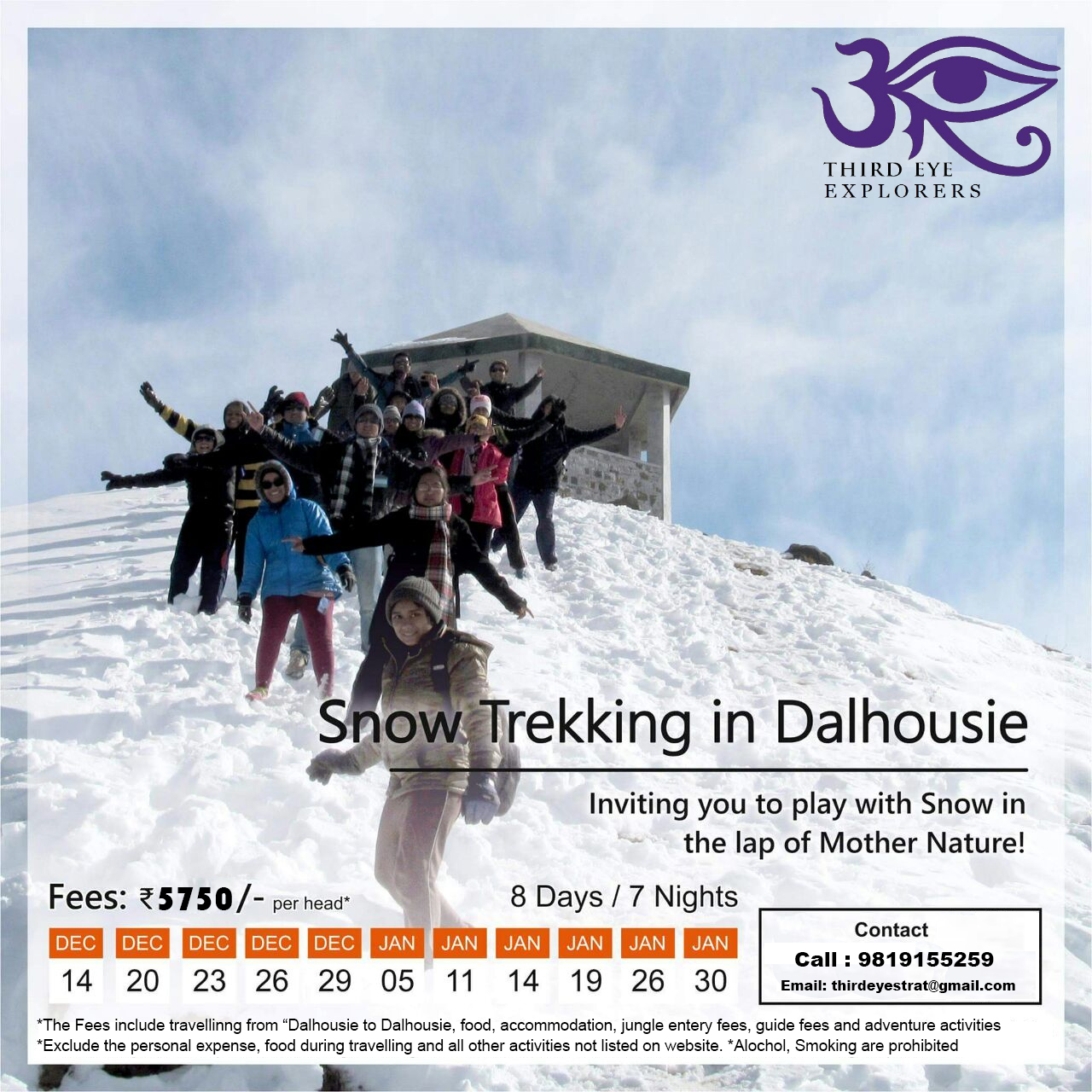 Explore White Winters at Dalhousie