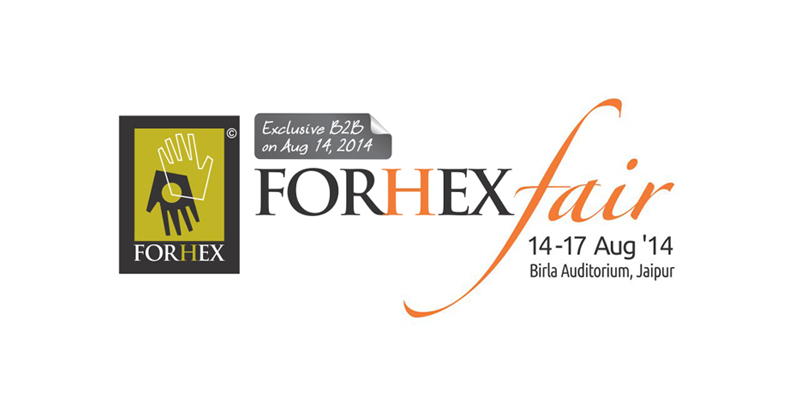 Trade Fair in Jaipur- FORHEX Fair - 2014