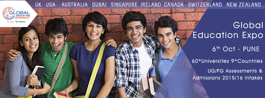 The Chopras - International Education Fair 2015 in Pune