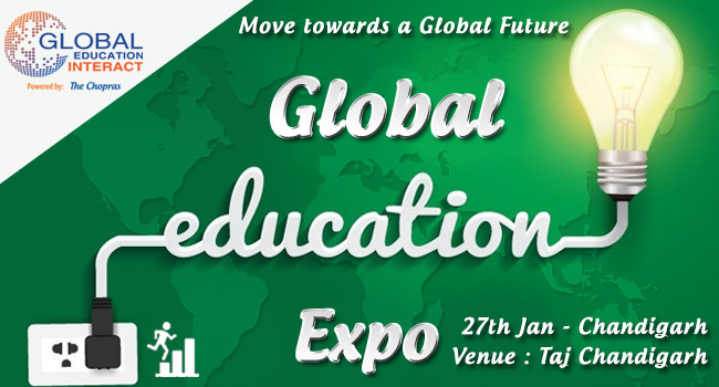 Global Education Fair in Chandigarh 2016 Hosted by The Chopras