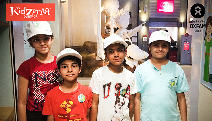 Oxfam at KidZania