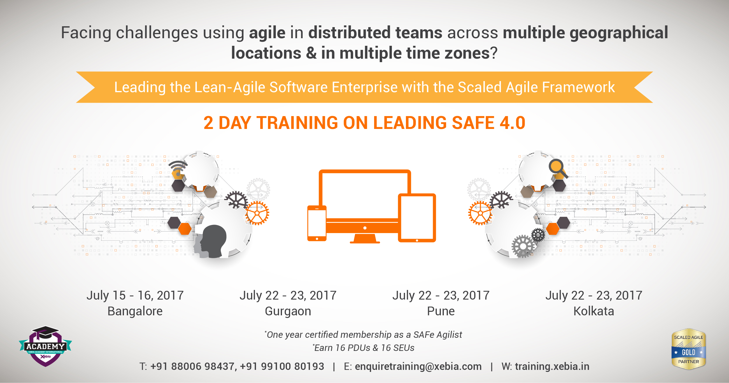 Leading SAFe 4.5 training & certification