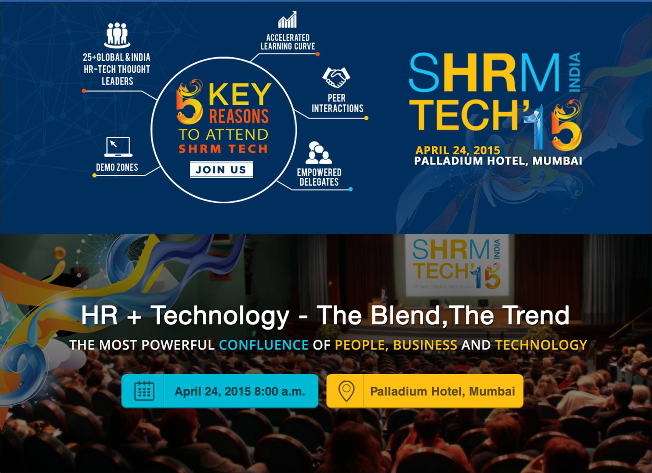 SHRM India Tech'15 conference