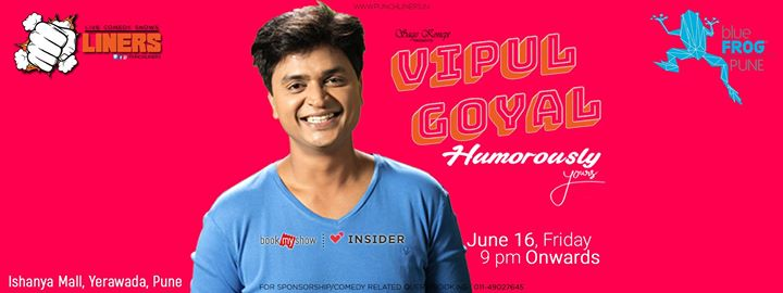 Punchliners: Standup Comedy Show ft. Vipul Goyal in Pune