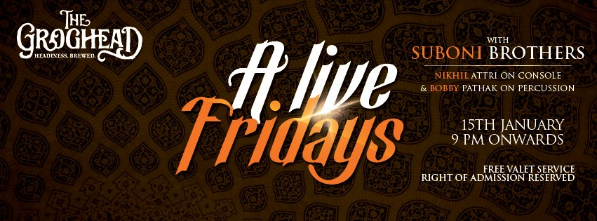 A Live Fridays with Suboni Brothers