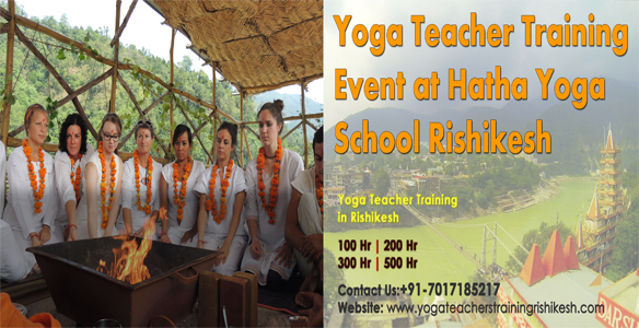 Yoga Teacher Training  Event at Hatha Yoga school rishikesh