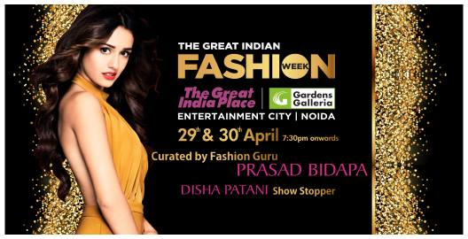 THE GREAT INDIA FASHION WEEK