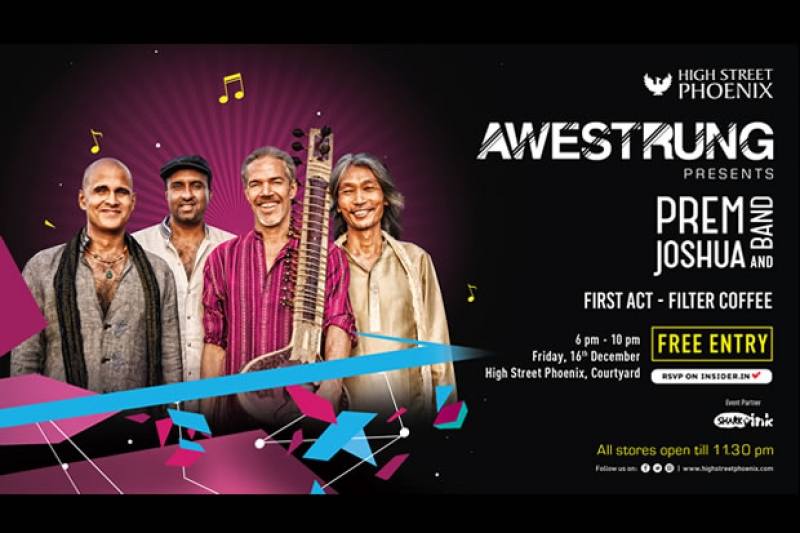 AWESTRUNG is back with Prem Joshua and Band at High Street Phoenix