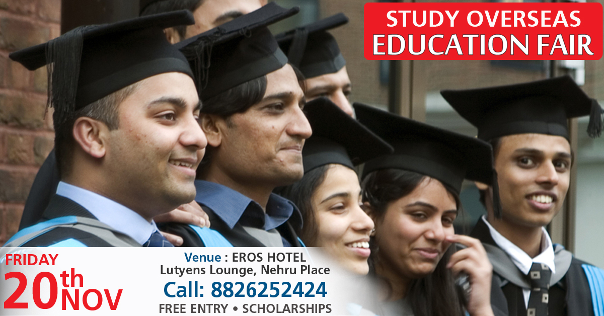 Study Overseas Global Educations Fair November 2015 in New DELHI