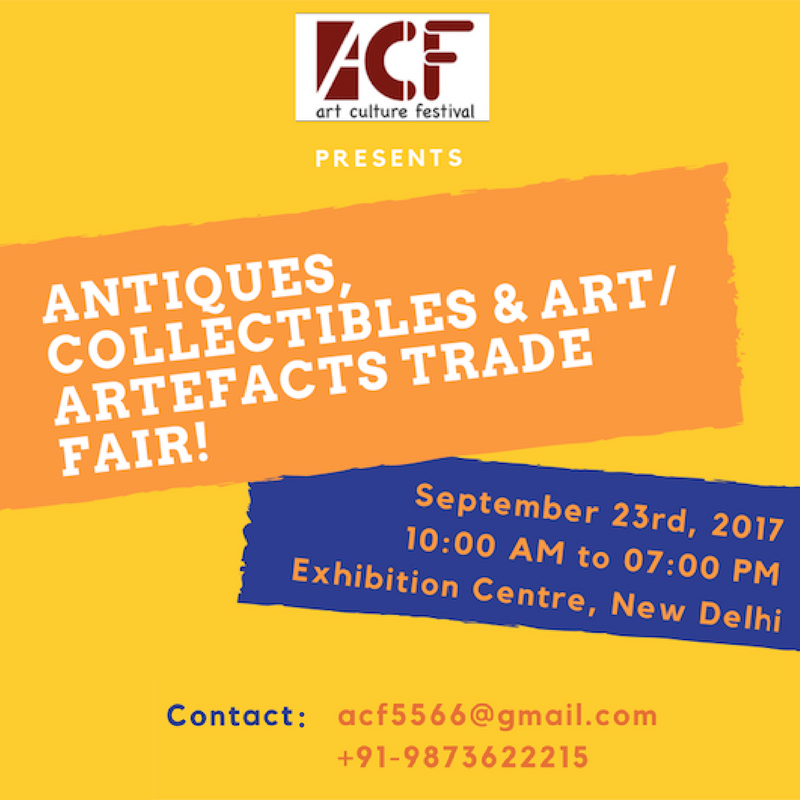 ANTIQUES, COLLECTIBLES & ART/ ARTEFACTS TRADE FAIR