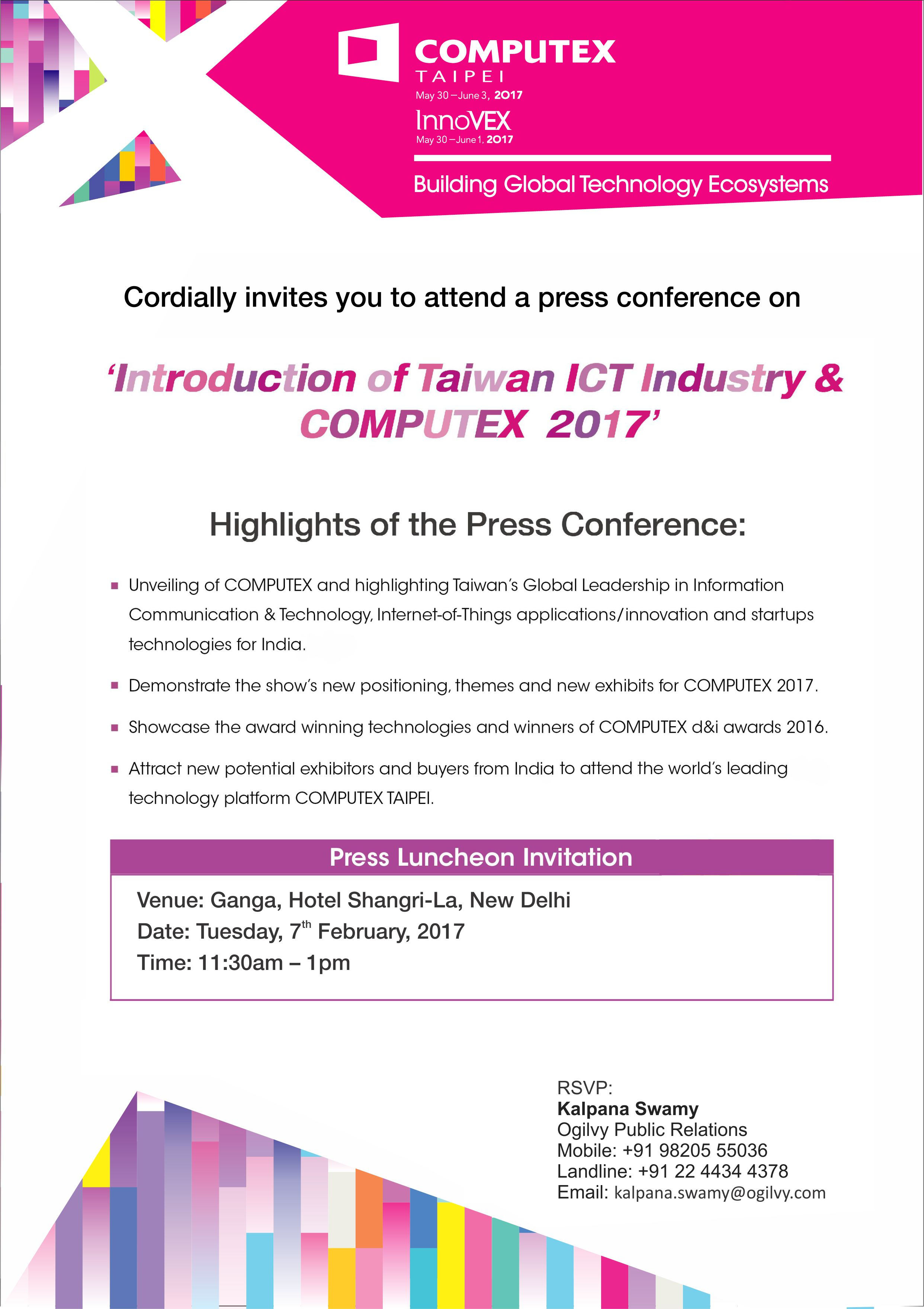 Introduction of Taiwan ICT Industry & COMPUTEX 2017