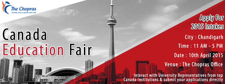 Much awaited Canada Education Fair arrives, shortly!