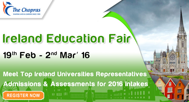 Ireland Education Fair in Delhi invites you All