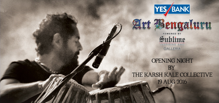 YES Bank Art Bengaluru 2016 - Karsh Kale Live
