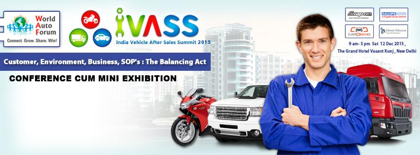 World Auto Forum – India Vehicle After Sales Summit 2015