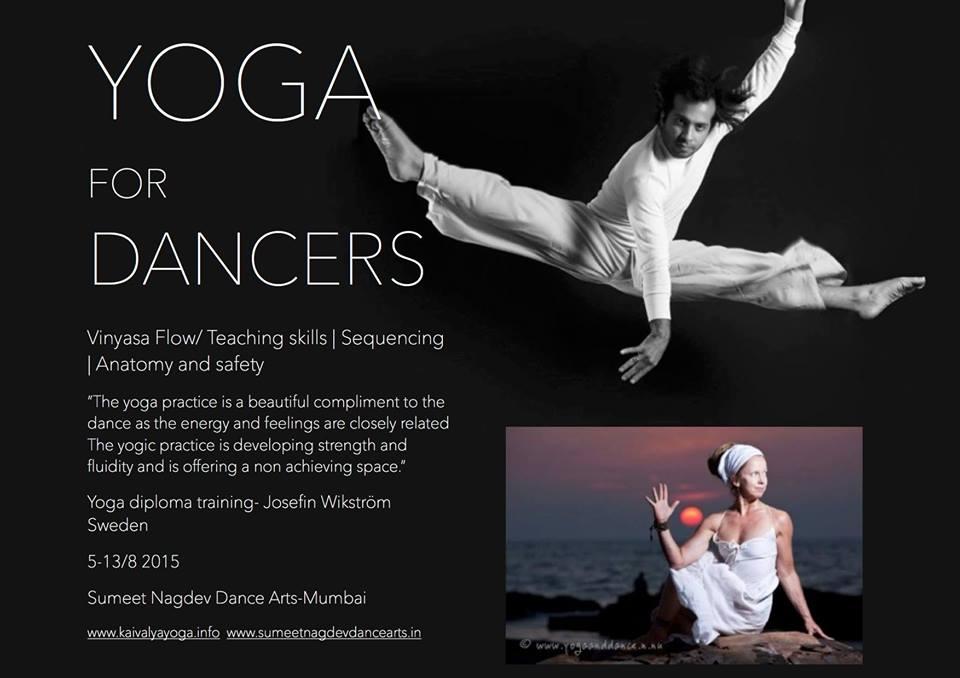 Yoga Diploma training for dancers@ SNDA Mumbai