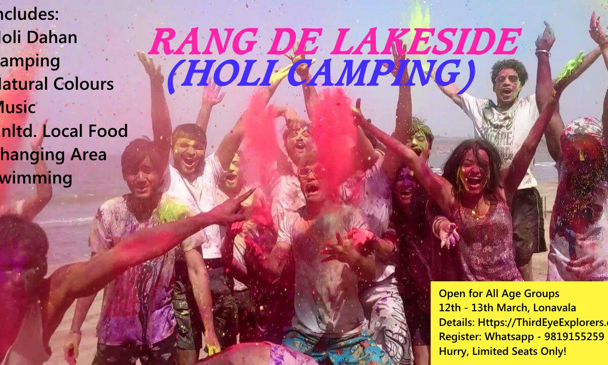 Rang De Lakeside (Holi Party)