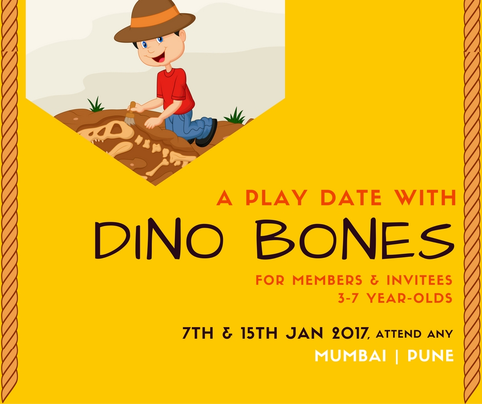 Play Date With Dino Bones